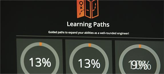 Learning Paths Feature