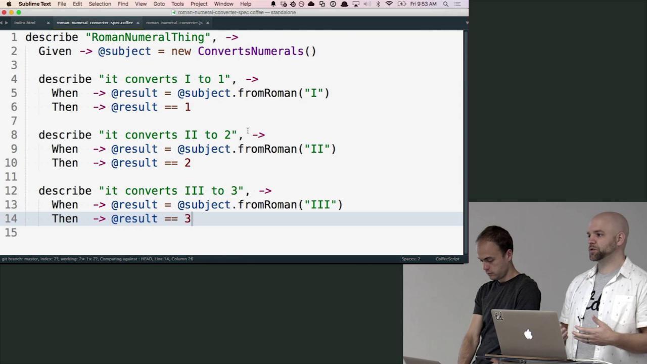 Unit Testing JavaScript (with CoffeeScript)