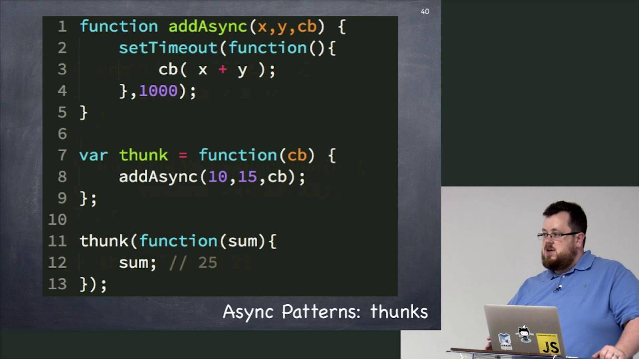 Rethinking Asynchronous JavaScript