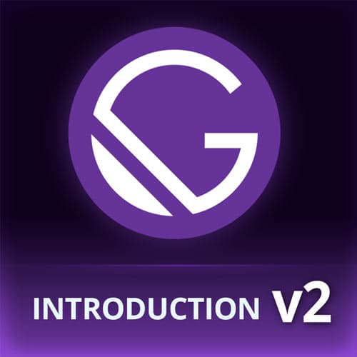 Introduction to Gatsby, v2